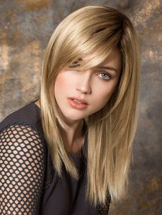 Code Mono by Ellen Wille | Color: Sandy Blonde Rooted https://www.wigs.com/products/code-mono-lace-front-wig-ellen-wille