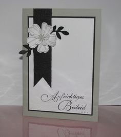 Fabric Stamping, Stamping Up Cards, Hand Made Greeting Cards, Greeting Cards Handmade, Karten Diy, Embossed Cards, Card Patterns, Fabric Patterns, Sympathy Cards