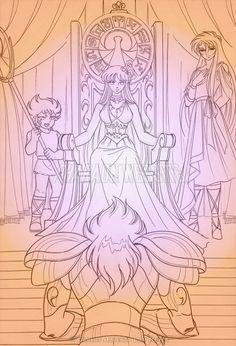 Kiki, Athena, Eurice and Lyra Orpheo
