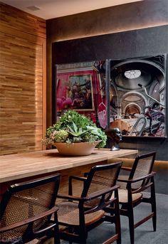 Plantas dentro de casa: quais são as espécies ideais - Casa Sweet Home, My Ideal Home, Inside Home, Dining Room, Interior Design, Green, Furniture, Adora, Home Decor