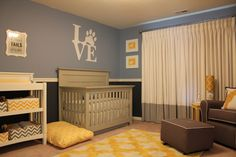 Doy Themed Nursery Room View