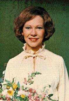 #39 First lady Eleanor Rosalynn Carter-wife of President Jimmy Carter