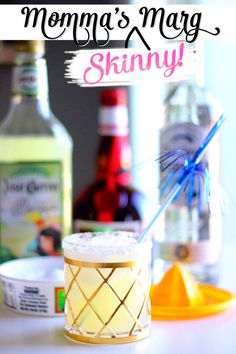 Momma's Skinny Marg // Jose Cuervo Tequila // + A Giveaway