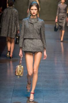 Dolce and Gabbana Fall 2013 RTW collection19.JPG