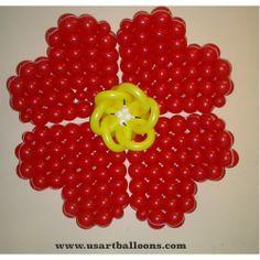 Giant Flower design Sandra Moreira, CBA