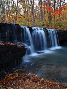 Hidden Falls - Nerstrand Big Woods State Park - Nerstrand, Minnesota