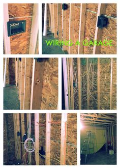 Wiring a Garage Garage Tools, Diy Garage, Garage Plans, Garage Workshop, Garage Storage, Garage Ideas, Home Projects, Projects To Try, Building A Garage