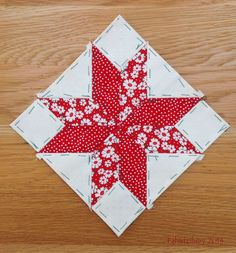 Nearly Insane Quilt - Block 27 English Paper Piecing.