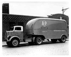 1939 Mack Model EHU A&P Tractor Trailer Truck Photo Poster zu1036-ARIJPF