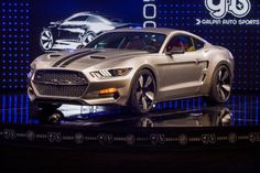 The Galpin-Fisker Rocket is a Ford Mustang made of mostly carbon fiber.