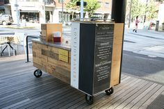 coffee cart.
