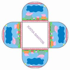 h Peppa Pig Printables, Aniversario Peppa Pig, Pot Holders, Alice, Party, Html, Hot Pads, Potholders, Parties