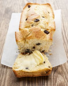 scone with raisins