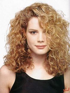 Best Blonde Haircut for Long Thick Curly Hair