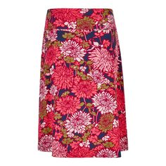 9ad1300b45 Malmo skirt features a pretty print, thick waistband and an embroidered Weird  Fish logo.