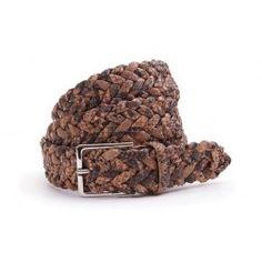 Genuine Italian hand woven Python skin belt.. @ http://djante.com