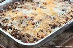 you have to try this easy taco casserole recipe