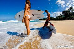 Checking the surf #bikini #surfing #Hawaii #beach. Photo by @Jim Russi