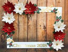 -Christmas photo booth frame Christmas Selfie Frame See it Christmas Photo Booth Backdrop, Holiday Photo Frames, Christmas Photo Props, Christmas Backdrops, Christmas Frames, Christmas Party Decorations, Christmas Photos, Diy Christmas Videos, Christmas Diy