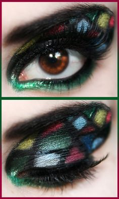 This reminds me of Stained Glass! Neattt.