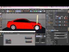 Car rigging in Maxon 4d using xpresso control on speed,stop and reverse - YouTube