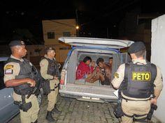 PM prende três em Ibirapuã por tráfico de drogas