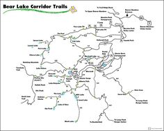 #homemade #hiking bear lake #map #RMNP #Colorado  Lost of great Trail with significant view, stay #WildWednesday ! pic.twitter.com/PAwFg3MyxS