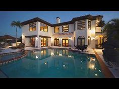 Изысканный дом в Венисе, штат Флорида, США - YouTube