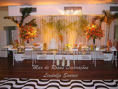 Mar de Rosas Decorações Lindolfo Soares: Mesas Doces/Chá/Bem Casados
