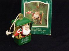 Vintage Hallmark Keepsake Tree Ornament Santa's Ski by parkie2, $22.10