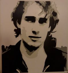 Jeff Buckley by John Harrison Fomex and card