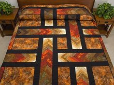 Autumn Paths Quilt.