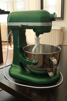 I brought a kitchenaid stand mixer back to life
