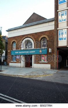 Salvation Army building, Ilford - Stock Photo