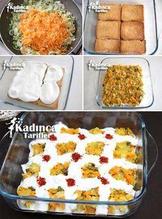 Kolay Pırasalı Etimek Salatası Tarifi