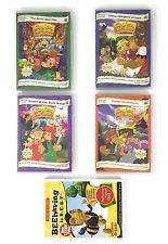 Kingdom Adventure Lot Of 4 DVDs + Max Lucado Beehaving