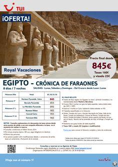 ¡Nuevos Precios! Oferta Egipto- Crónica de Faraones. Octubre. Precio Final desde 845€ incluye Visado ultimo minuto - http://zocotours.com/nuevos-precios-oferta-egipto-cronica-de-faraones-octubre-precio-final-desde-845e-incluye-visado-ultimo-minuto-2/