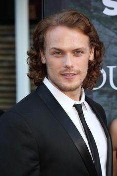 He's gorge! #SamHeughan #JamieFraser #Outlander