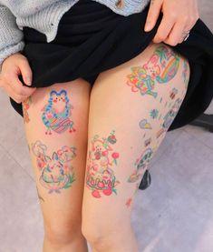 Emo Tattoos, Anime Tattoos, Mini Tattoos, Body Art Tattoos, Small Tattoos, Tatoos, 16 Tattoo, Poke Tattoo, Kawaii Tattoo
