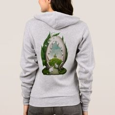 Easter Egg Rabbits Zip Hoodie  $58.00  by FantasyApparel  - custom gift idea