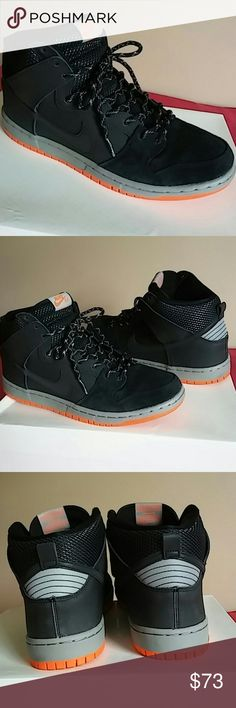 newest c7693 f156c Nike SB Dunk High like New! Worn ONLY ONE TIME and looks like new. Shoes is  authentic nike product and coming with original lace. Men size and Women 12  or ...