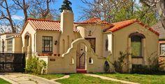 spanish style homes   Denver's Single-Family Homes by Decade: 1930s « DenverUrbanism Blog