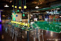 Partie Girl/Tracie Simkin | Preppy Sports-Themed Bar Mitzvah | PartySlate Softball Wedding, Basketball Wedding, Golf Wedding, Wedding Reception, Wedding Ideas, Football, Baseball, Bar Mitzvah, Preppy