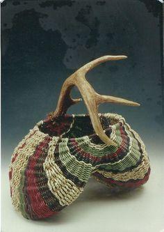 Antler Egg Basket KIT from J. Choate Basketry for $95.00