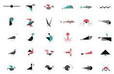rafa kids: Geometric Animals