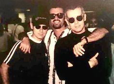 George with Pet Shop Boys