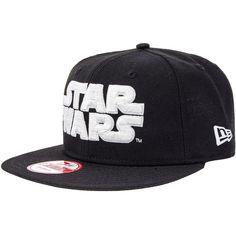 d042d7a1c49 New Era Star Wars Logo Snapback Hat (Black) ( 37) ❤ liked on