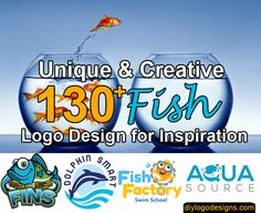 Looking creative logo design for your fish Restaurant, company, business, fish and chips?. Find the 130 best fish logo design inspiration free download.
