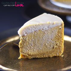 Gluten-Free, Vegan, and Paleo Pumpkin Cheesecake