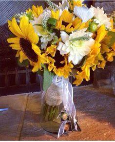 Fun, Fall Wedding Bouquet.